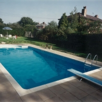 Custom-built Pool, Egerton