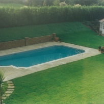 Bespoke tiled pool, Tonbridge