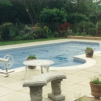 Cranbrook, Tiled Pool